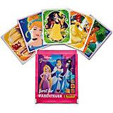 Наклейки Panini Принцессы Disney Рождена, чтобы исследовать, в пакетике 5 наклеек