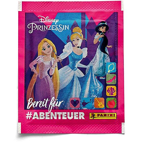 Наклейки Panini Принцессы Disney Рождена, чтобы исследовать, в пакетике 5 наклеек от Panini