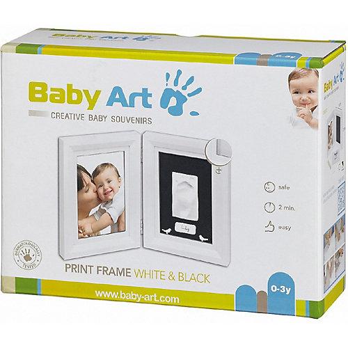 """Рамка Baby Art """"Классика"""", двойная, белая - белый от Baby Art"""