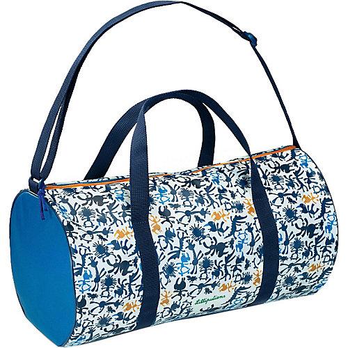 """Спортивная сумка Lilliputiens """"Носорог Мариус"""", синяя - atlantikblau от Lilliputiens"""