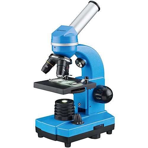 Микроскоп Bresser Junior Biolux SEL, 40–1600x, синий от Bresser