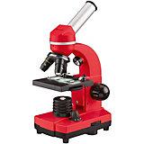 Микроскоп Bresser Junior Biolux SEL, 40–1600x, красный