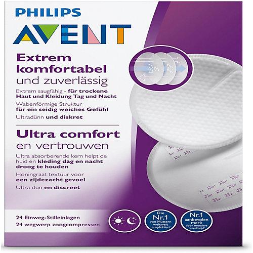 Вкладыши одноразовые в бюстгальтер Philips Avent Ultra Comfort, 24 шт от PHILIPS AVENT