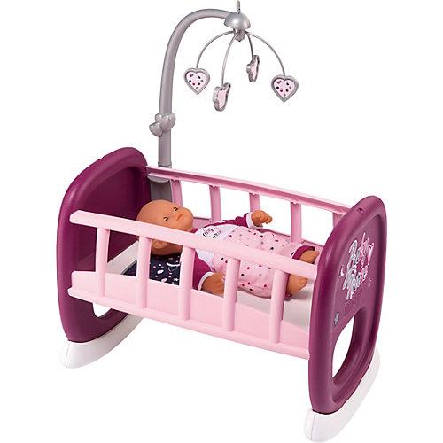 Колыбель для пупса с мобилем Smoby Baby Nurse от Smoby