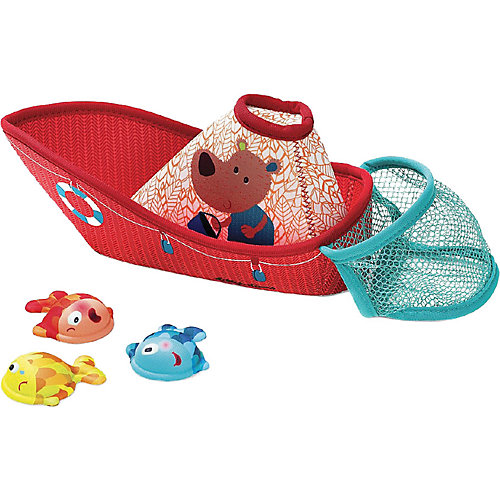 """Игровой набор для ванны Lilliputiens """"Рыбацкая лодка"""" от Lilliputiens"""