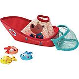 """Игровой набор для ванны Lilliputiens """"Рыбацкая лодка"""""""