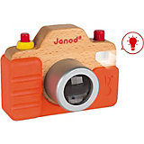 "Игрушка Janod ""Фотокамера"", звук/свет"