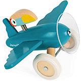 """Каталка-самолет Janod """"Диего"""", голубой"""