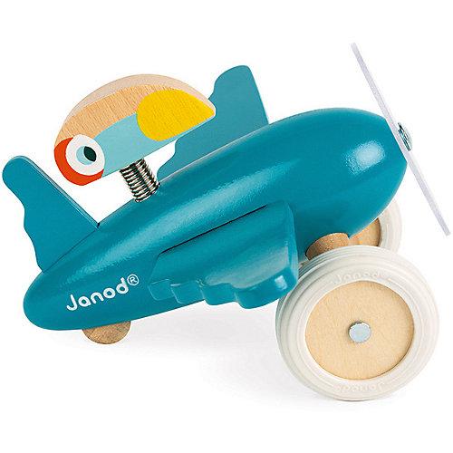 "Каталка-самолет Janod ""Диего"", голубой от Janod"