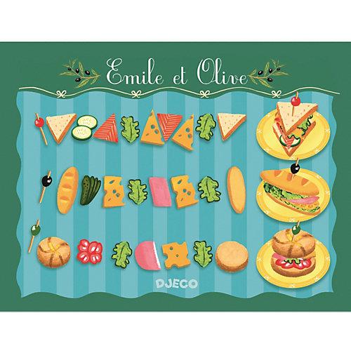 Сюжетно-ролевая игра Djeco Сэндвичи от Эмиля и Олив