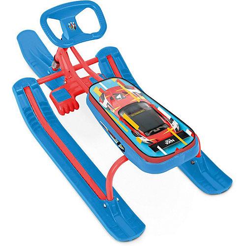 """Снегокат Nika """"Тимка спорт 1"""" Kids sportcar, красный каркас от Nika-Kids"""