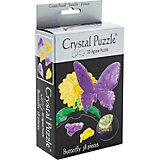 3D головоломка Crystal Puzzle Бабочка