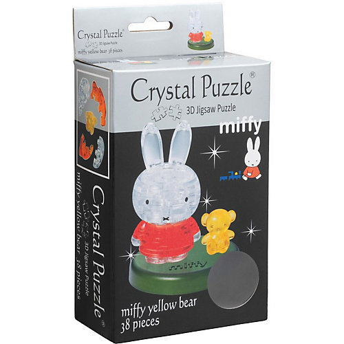 3D головоломка Crystal Puzzle Миффи и медвежонок от Crystal Puzzle