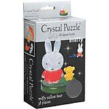 3D головоломка Crystal Puzzle Миффи и медвежонок