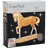 3D головоломка Crystal Puzzle Лошадь золотая