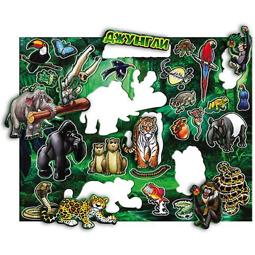 Магнитный пазл Геоцентр Животный мир джунглей от АГТ Геоцентр