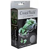 3D головоломка Crystal Puzzle Автомобиль зеленый