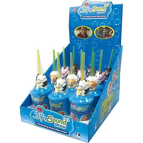 Звуковая соломинка Sip n' Sound Кошка белая) - синий