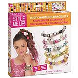 Набор Браслеты Style Me Up с шармами-подвесками, 5 шт