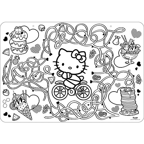 Коврик-раскраска Style Me Up Hello Kitty от Style Me Up