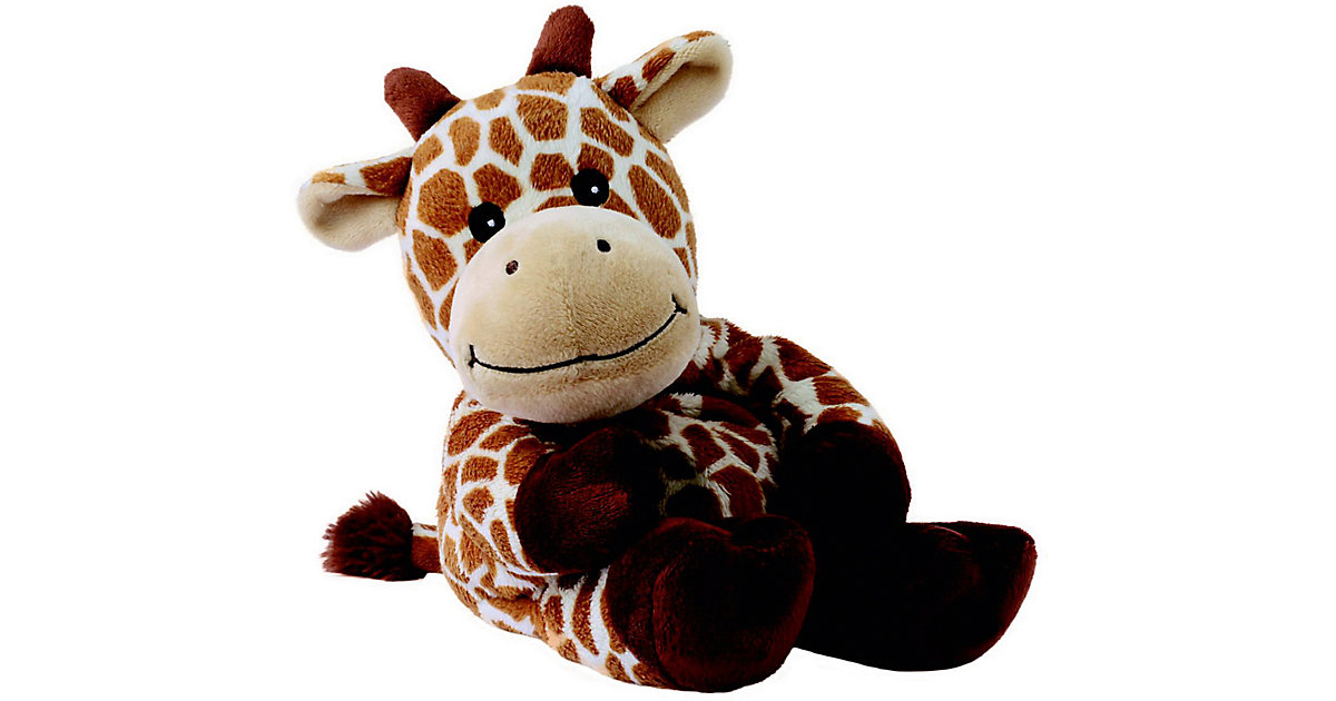 Warmies Wärmetier - Giraffe Giraffana braun/beige