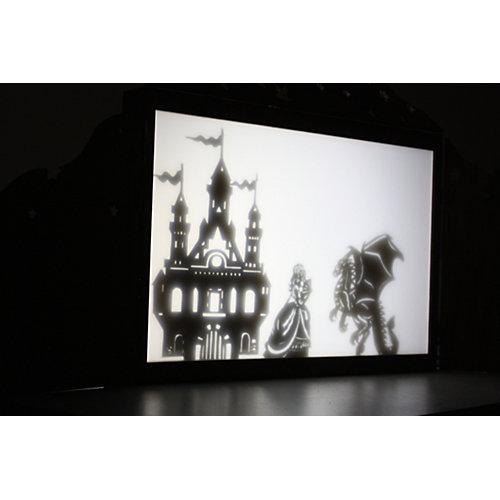 """Набор фигурок для театра теней Крошки в окошке """"Принцесса и Дракон"""" от Крошки в окошке"""