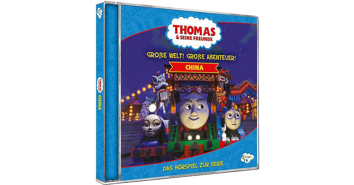 CD Thomas & seine Freunde - China  Große Welt! Große Abenteuer Hörbuch