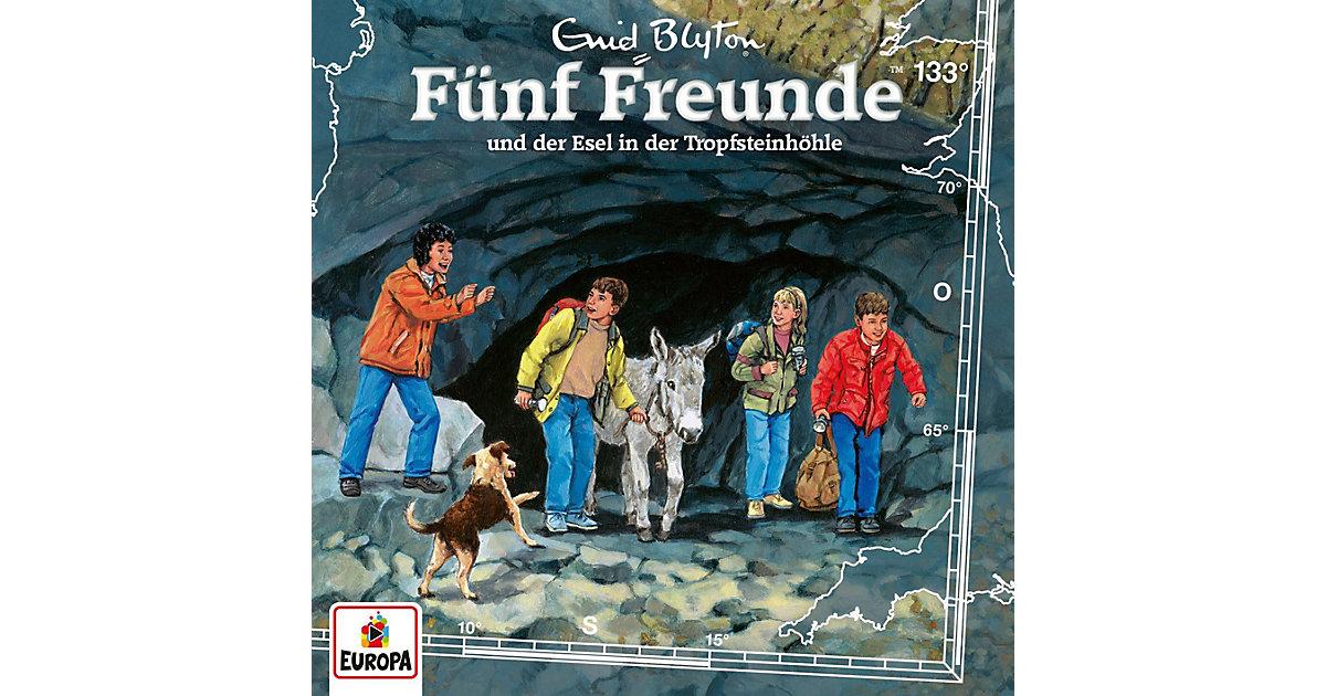 CD Fünf Freunde 133 - …und der Esel in der Tropfsteinhöhle Hörbuch