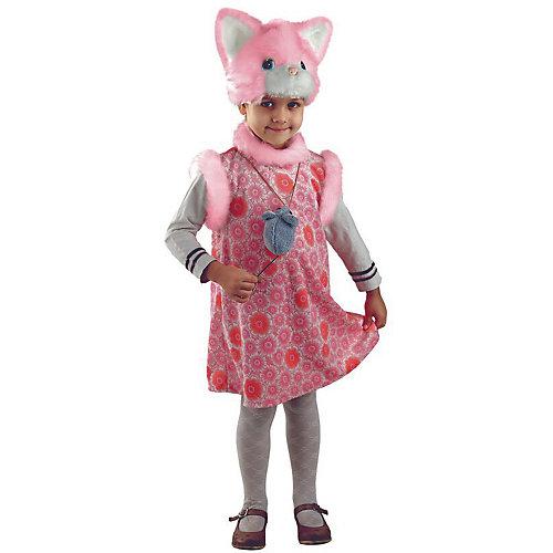 Карнавальный костюм Батик Кошка Матрена - розовый от Батик