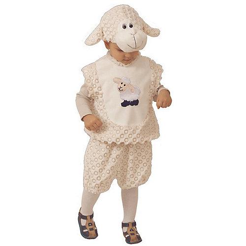Карнавальный костюм Батик Овенчик Сипсик - белый от Батик