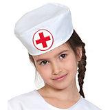 """Карнавальная шапка Карнавалофф """"Медицинская шапочка"""""""