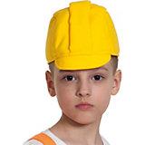 """Карнавальная шапка Карнавалофф """"Каска строителя"""""""