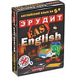 Настольная игра Биплант Эрудит easy english-подарочный