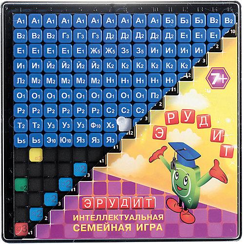 Настольная игра Биплант Эрудит. Синие фишки от Биплант