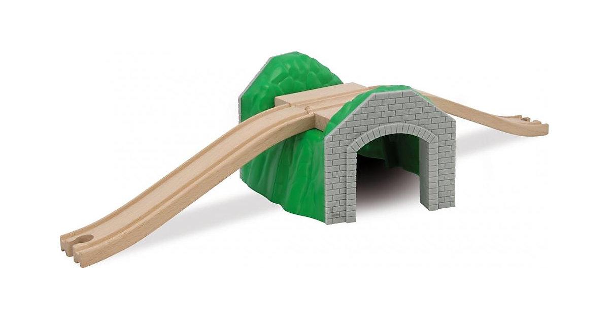 Holzeisenbahn Bahn, Tunnel, 3 tlg. mehrfarbig