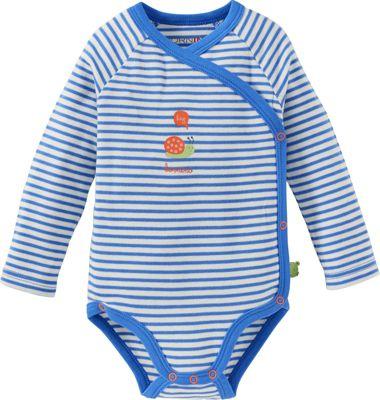 "Baby Klettlätzchen blau Neu /"" Bornino/"""