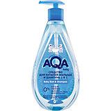 Средство для купания малыша и шампунь AQA Baby, 250 мл.