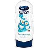 Шампунь для мытья волос и тела Bubchen Ласковый и нежный 230 мл.
