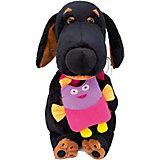 Мягкая игрушка Budi Basa Собака Ваксон с совой, 29 см
