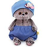 Мягкая игрушка Budi Basa Кот Басик Baby в шапочке с мышью, 20 см