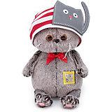 Мягкая игрушка Budi Basa Кот Басик Baby в шапочке с котиком, 20 см
