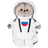 Мягкая игрушка Budi Basa Кот Басик в костюме космонавта, 22 см