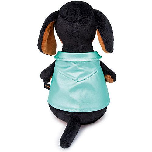 Мягкая игрушка Budi Basa Собака Ваксон в зеленой рокерской жилетке, 29 см от Budi Basa