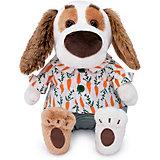 Мягкая игрушка Budi Basa Собака Бартоломей Baby в рубашке и трусах, 19 см