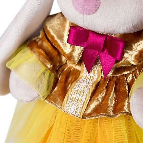 Мягкая игрушка Budi Basa Зайка Ми барышня в янтарно-золотом , 32 см от Budi Basa