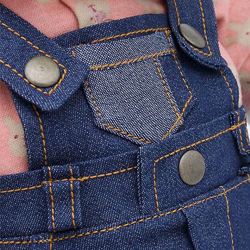 Мягкая игрушка Budi Basa Собака Бартоломей в джинсовом комбинезоне, 27 см от Budi Basa