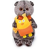Мягкая игрушка Budi Basa Кот Басик с совой, 19 см