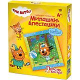 Набор для творчества Три кота Объемная аппликация, Коржик, лето, с пайетками
