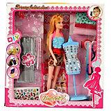 Набор для создания кукольного платья Bradex «Я дизайнер» с куклой