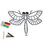 Раскраска надувная Bradex «Стрекоза»